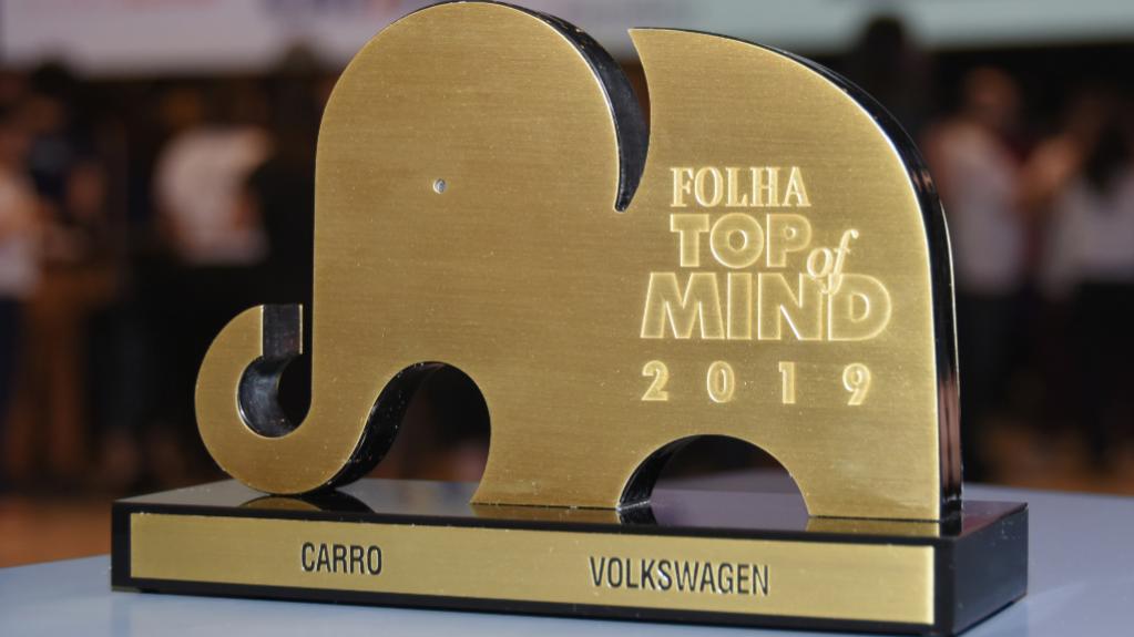 Volkswagen é Top of Mind de marca de carros mais lembrada do País