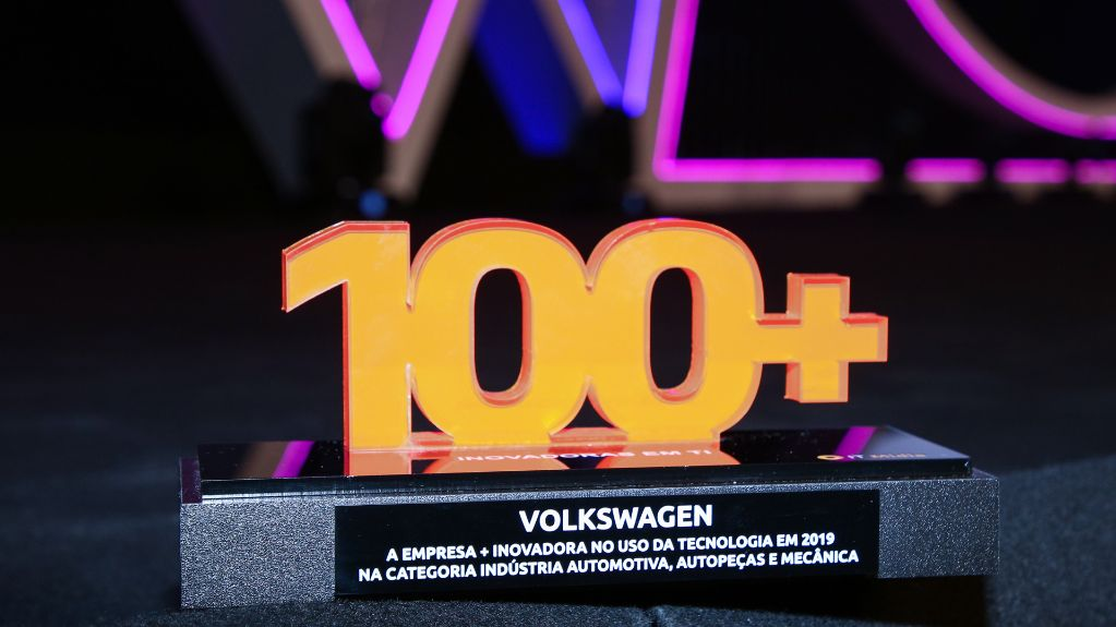 Volkswagen recebe o Prêmio Empresa + Inovadora em Tecnologia 2019
