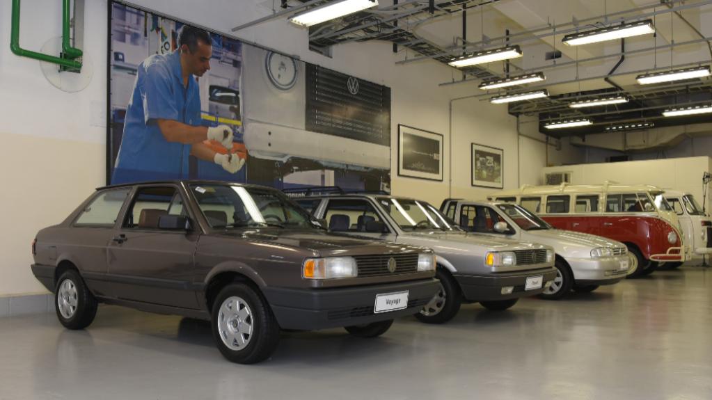 Garagem VW reúne clássicos da Volkswagen pela 1ª vez no Brasil