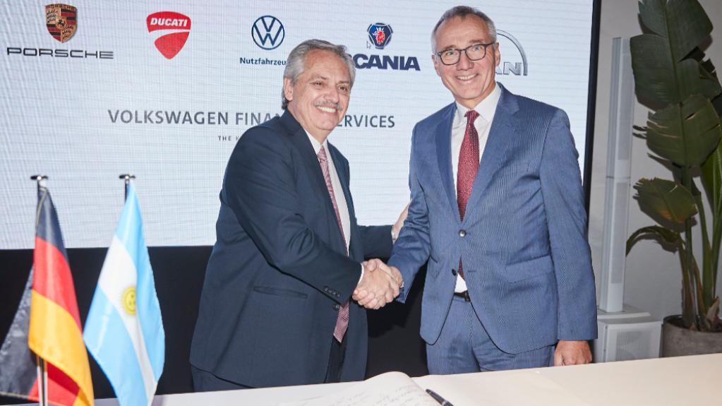 Grupo Volkswagen confirma investimento de US$ 800 milhões na Argentina