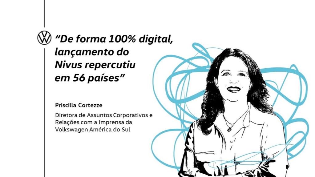 """""""De forma 100% digital, lançamento do Nivus repercutiu em 56 países"""""""