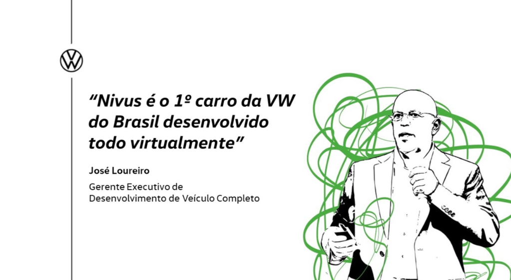 "You are currently viewing ""Nivus é o 1º carro da VW do Brasil desenvolvido todo virtualmente"""