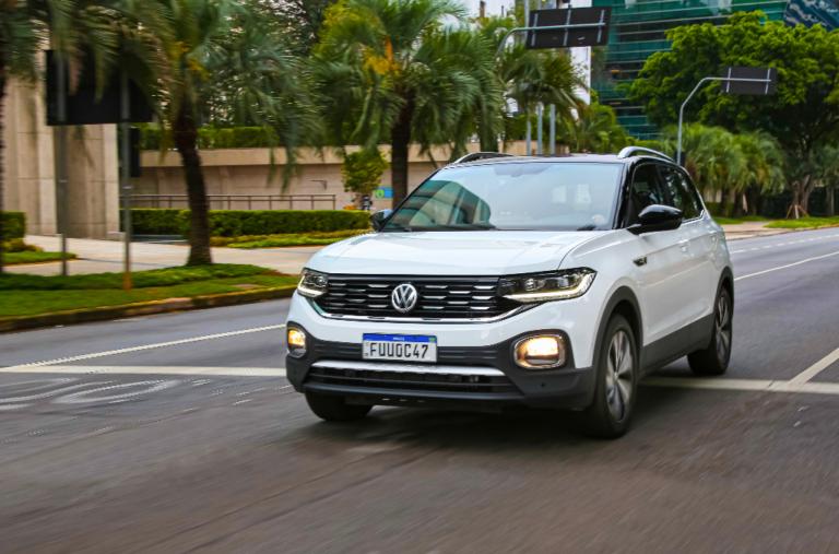 T‑Cross, SUV da VW fabricado no Paraná, é líder em vendas na Argentina