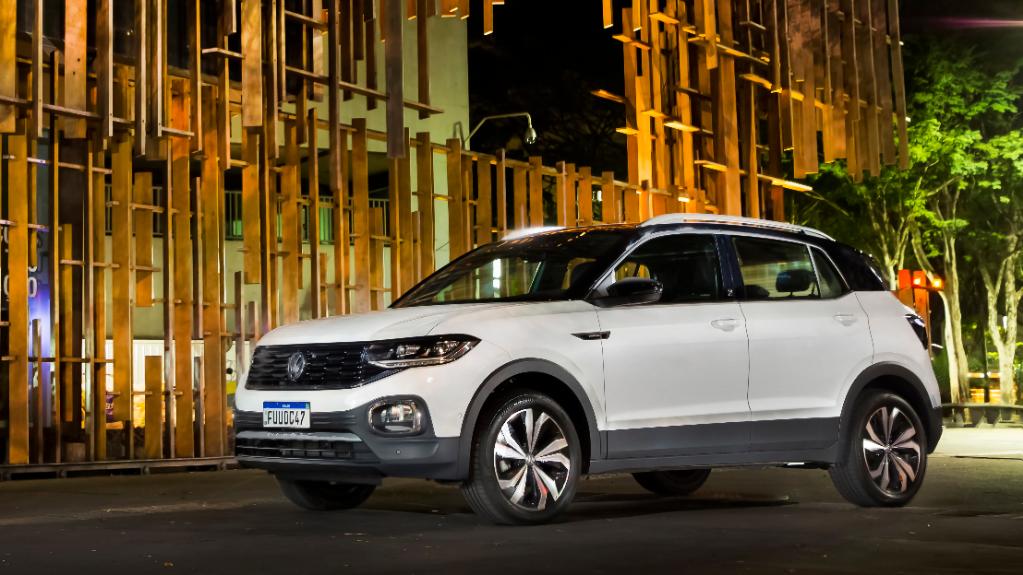 VW T‑Cross é o SUV mais vendido do Brasil em 2020