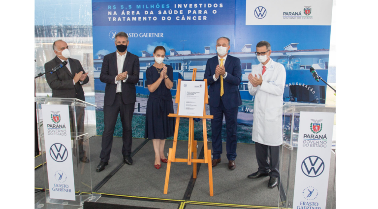 Volkswagen inaugura Centro de Hematologia no Paraná