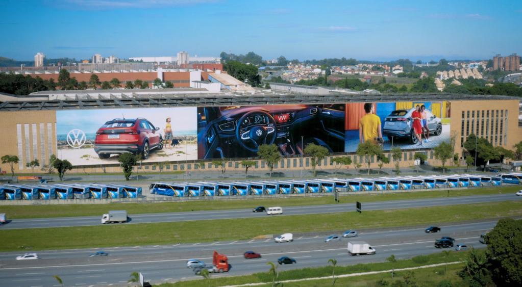 Painel da VW Anchieta é doado para projeto da Fundação Grupo VW
