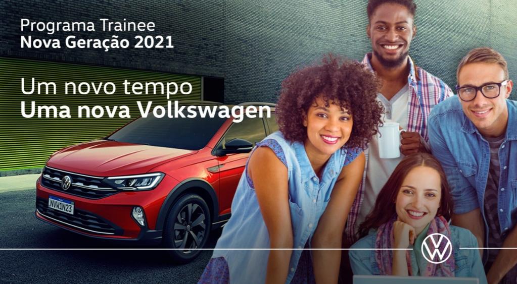 VW do Brasil abre inscrições para Programa Trainee – Nova Geração 2021