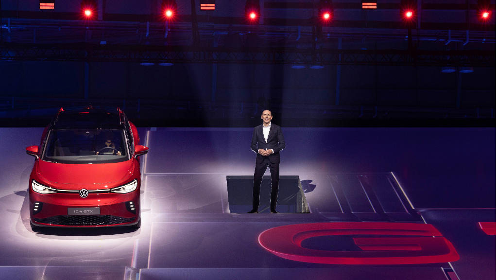 Espetacular apresentação mundial do novo Volkswagen ID.4 GTX